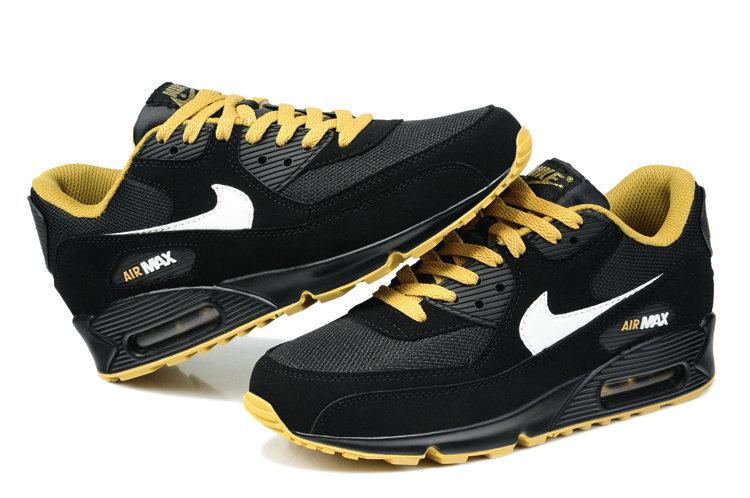 air max 90 noir jaune